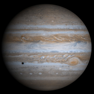 Jupiter - the closest Gas Giant planet