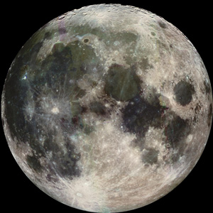 Our Moon in full