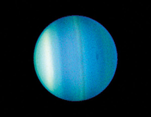 Uranus, captured by the Hubble Space Telescope